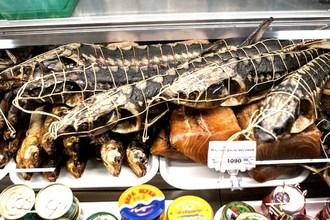 Копченая рыба, приготовленная по традиционным технологиям